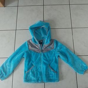 The North Face girls zip up fleece size xxs 5